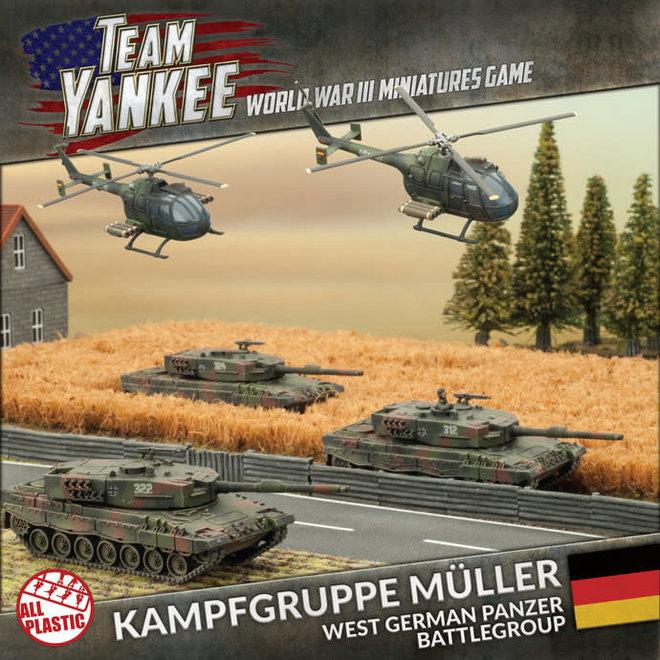 Team Yankee - World War III   Kampfgruppe Muller (Plastic Army Deal) - 2017
