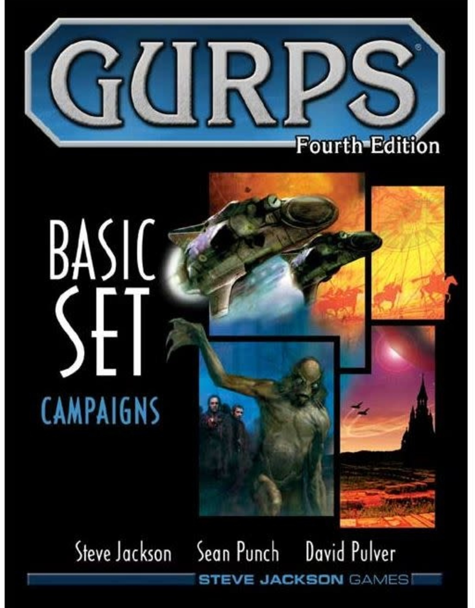 Steve Jackson Games Gurps: 4th Edition - Basic Set Campaigns Hardcover