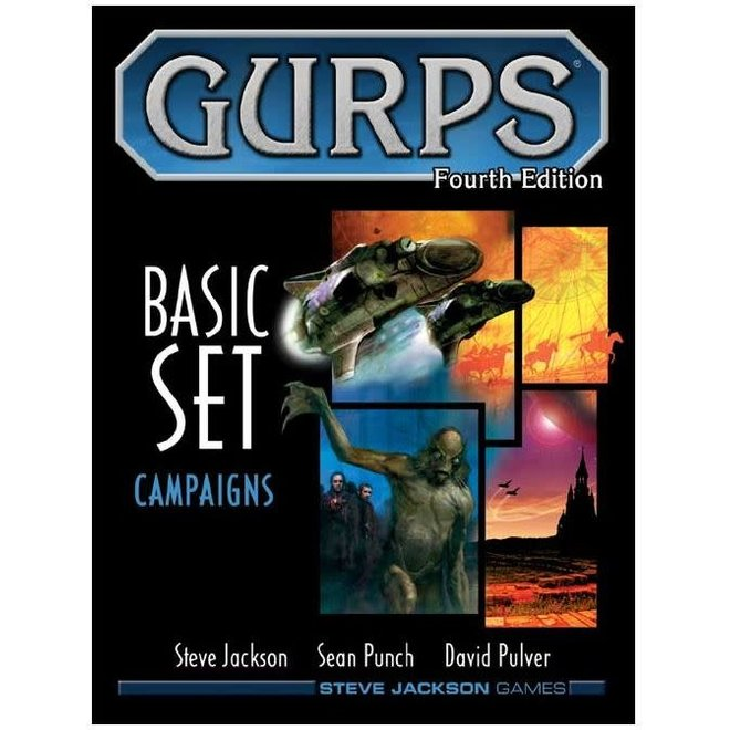 GURPS: 4th Edition - Basic Set Campaigns Hardcover