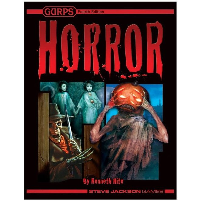 GURPS: 4th Edition - Horror Genre Toolkit Hardcover
