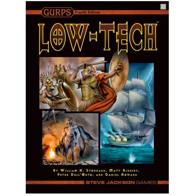 GURPS: 4th Edition - - Low-Tech Technology Book Hardcover