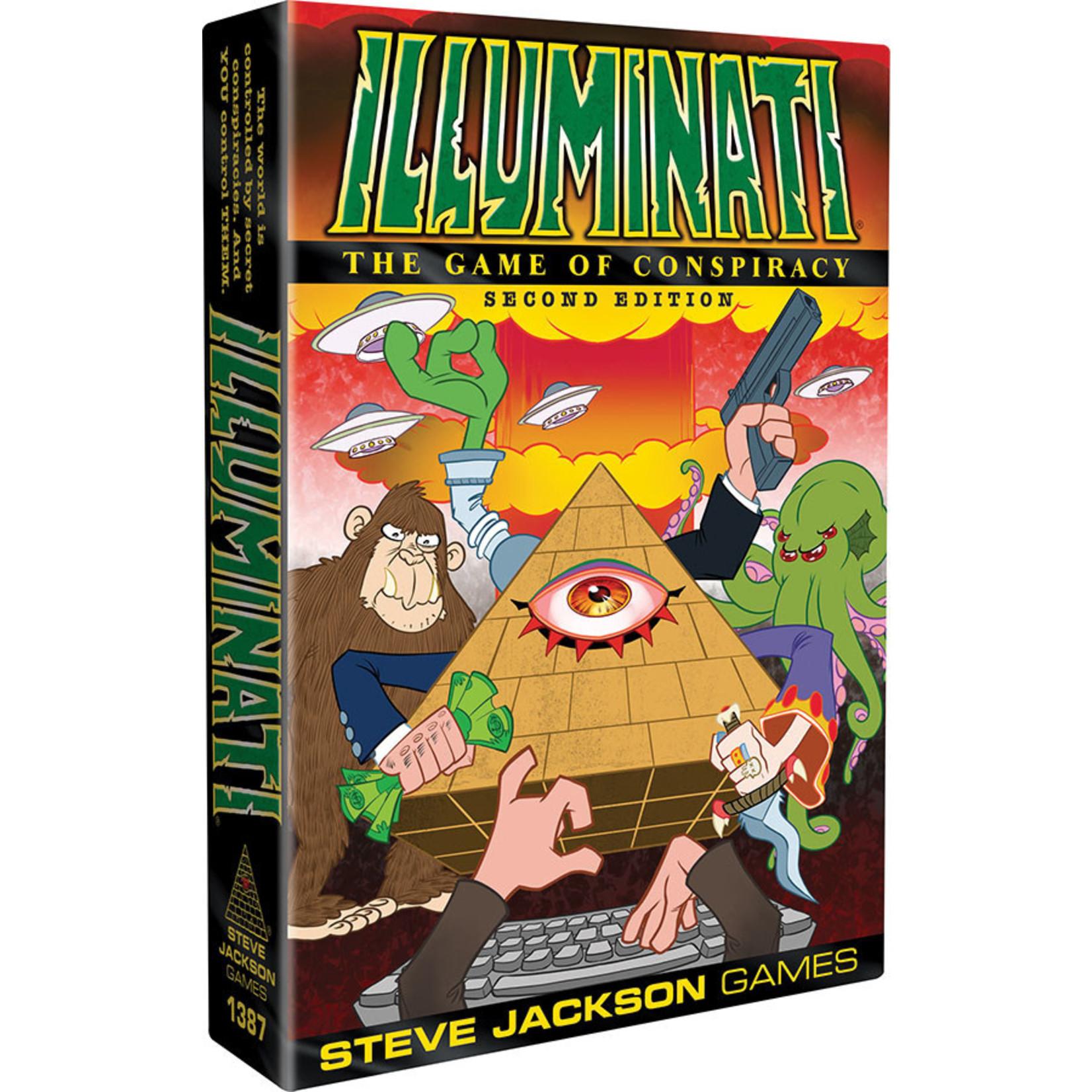 Steve Jackson Games Illuminati 2nd Edition