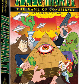Steve Jackson Games Illuminati 2nd Edition