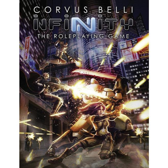 Corvus Belli: Infinity the RPG - Core Book Hardcover
