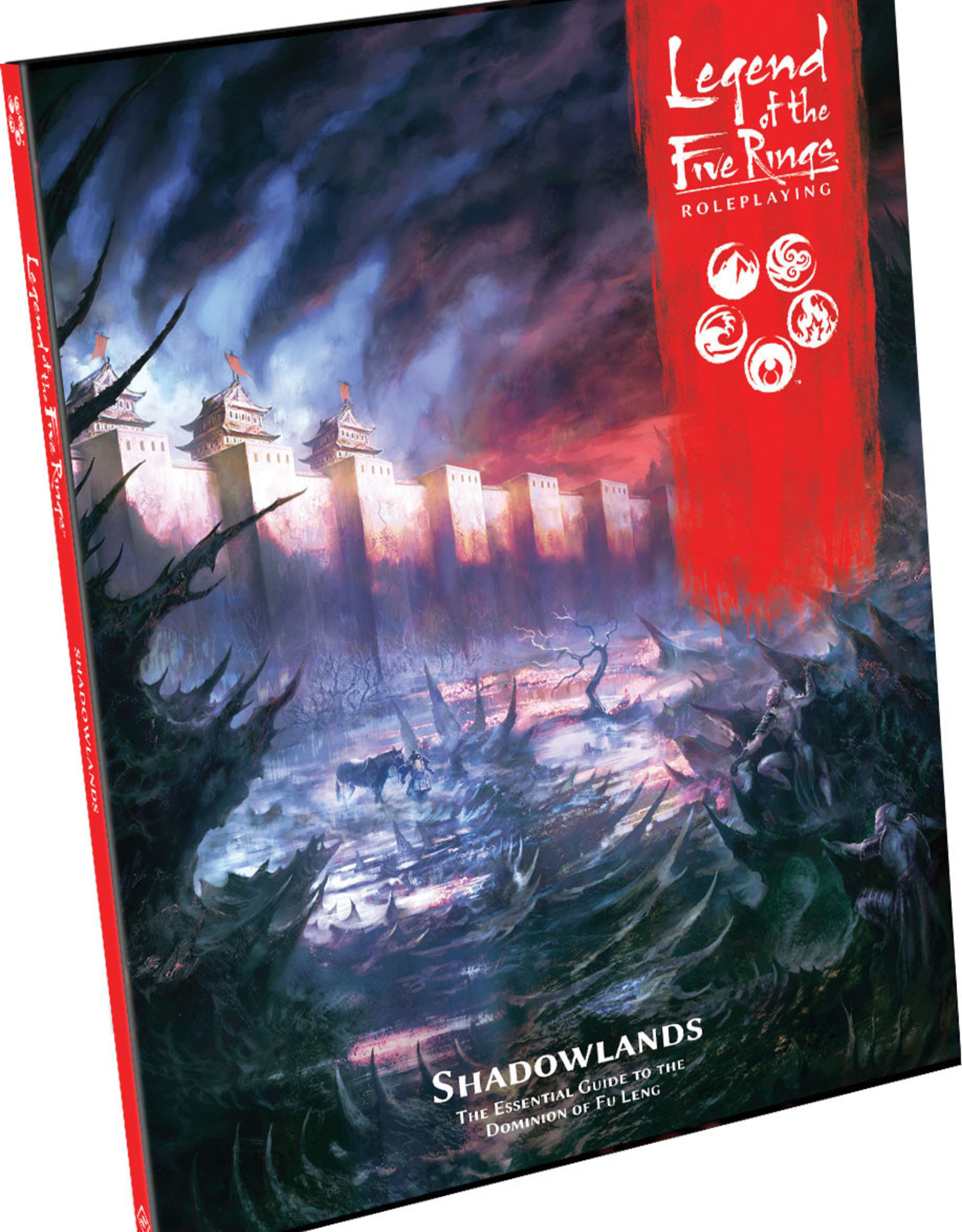 Fantasy Flight Games Legend of the Five Rings RPG: Shadowlands Hardcover