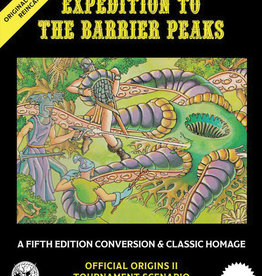 Goodman Games Original Adventures Reincarnated #3 Expedition To The Barrier Peaks