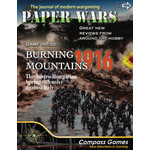 Compass Games Paper Wars #89: Burning Mountains