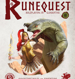 Chaosium Inc. RuneQuest RPG: Roleplaying in Glorantha Quick Start