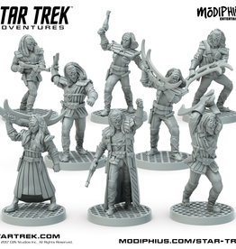 Modiphius Entertainment Star Trek Adventures RPG: Klingon Warband Team Minis Box Set