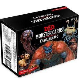 Gale Force Nine D&D RPG: Monster Cards - Challenge 0-5 Deck