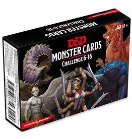 Gale Force Nine D&D RPG: Monster Cards - Challenge 6-16 Deck