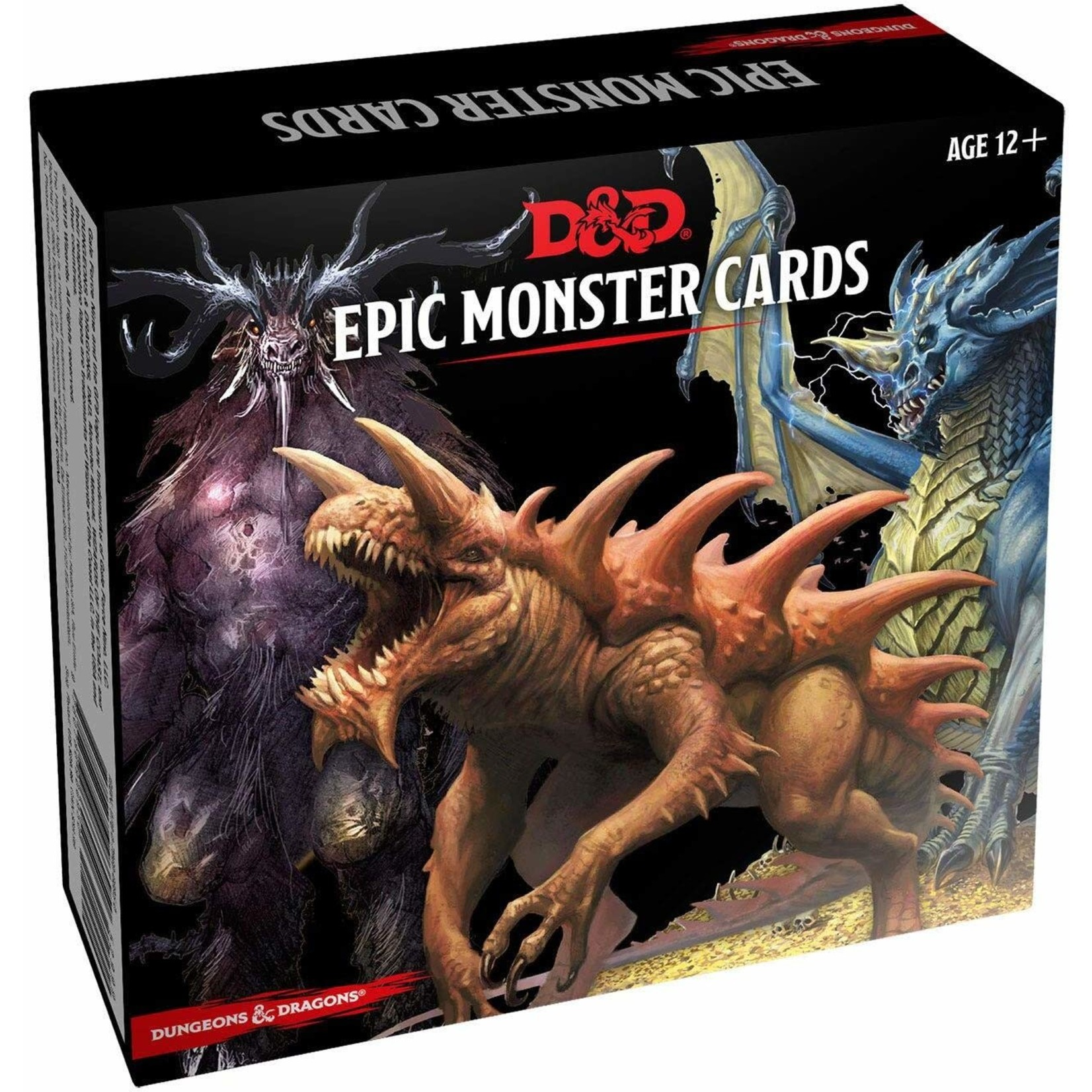 Gale Force Nine D&D RPG: Epic Monster Cards