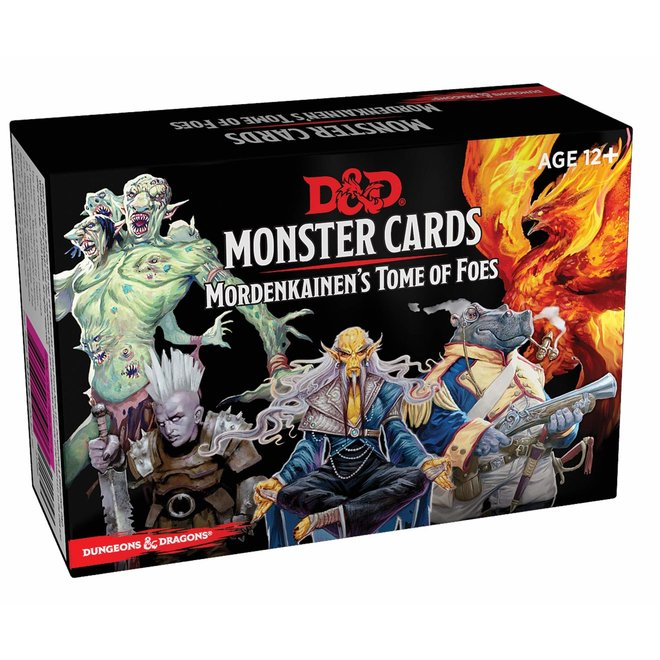 Dungeons & Dragons: 5th Edition Monster Cards - Mordenkainen`s Tome of Foes