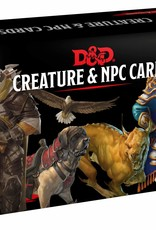 Gale Force Nine D&D RPG: Creature and NPC Card Deck