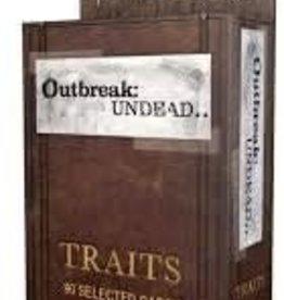 Renegade Games Studios Outbreak Undead 2E: Traits Deck
