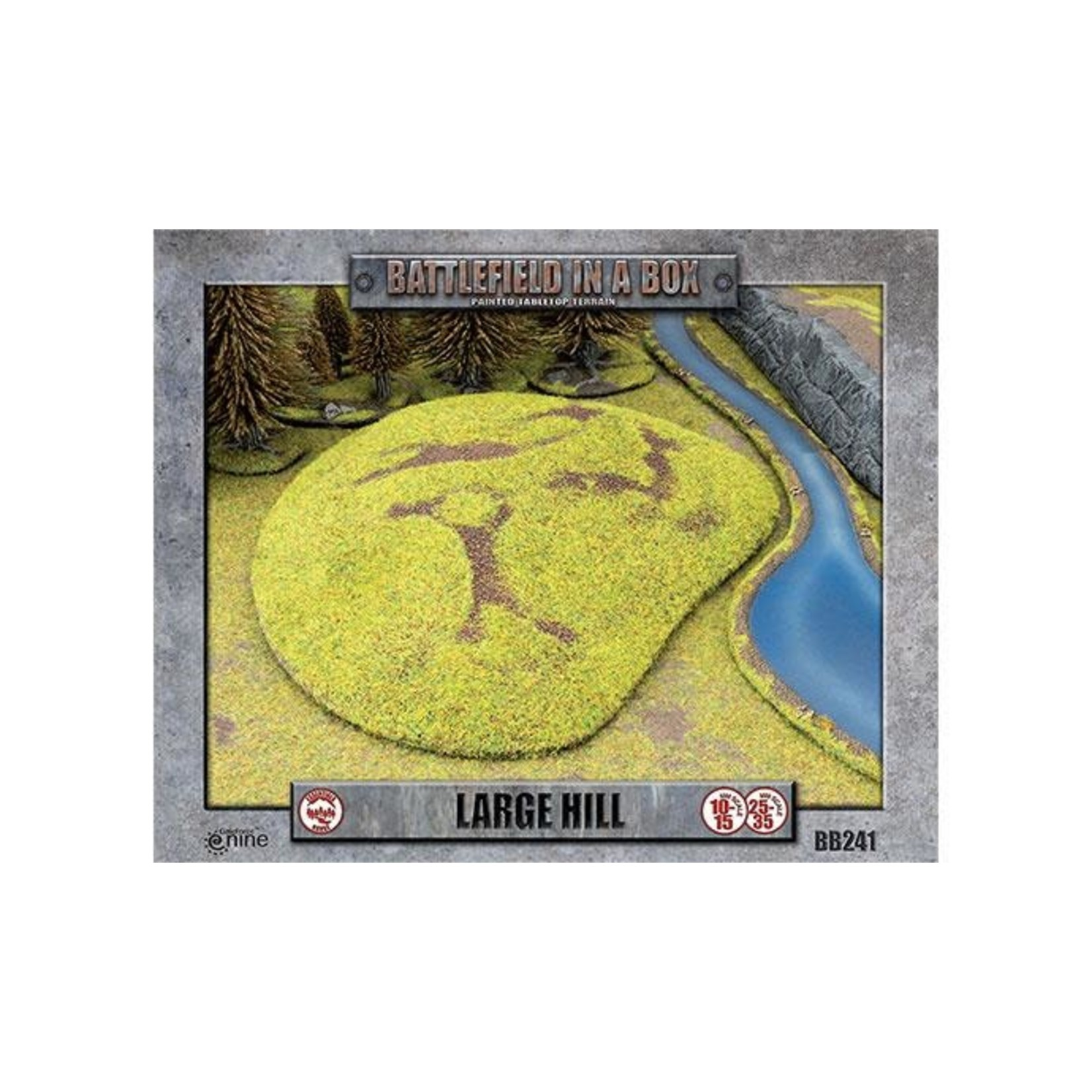 Gale Force Nine Large Hill (x1) - 15mm/30mm