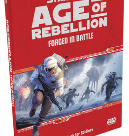 Fantasy Flight Games Star Wars RPG: Age of Rebellion - Forged in Battle Hardcover