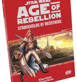 Fantasy Flight Games Star Wars RPG: Age of Rebellion - Strongholds of Resistance Hardcover