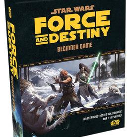 Fantasy Flight Games Star Wars RPG: Force and Destiny - Beginner Game
