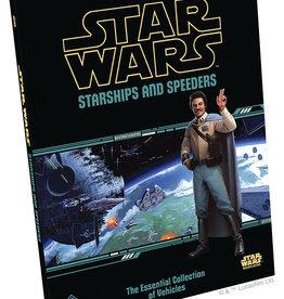 Fantasy Flight Games Star Wars RPG: Starships and Speeders Hardcover