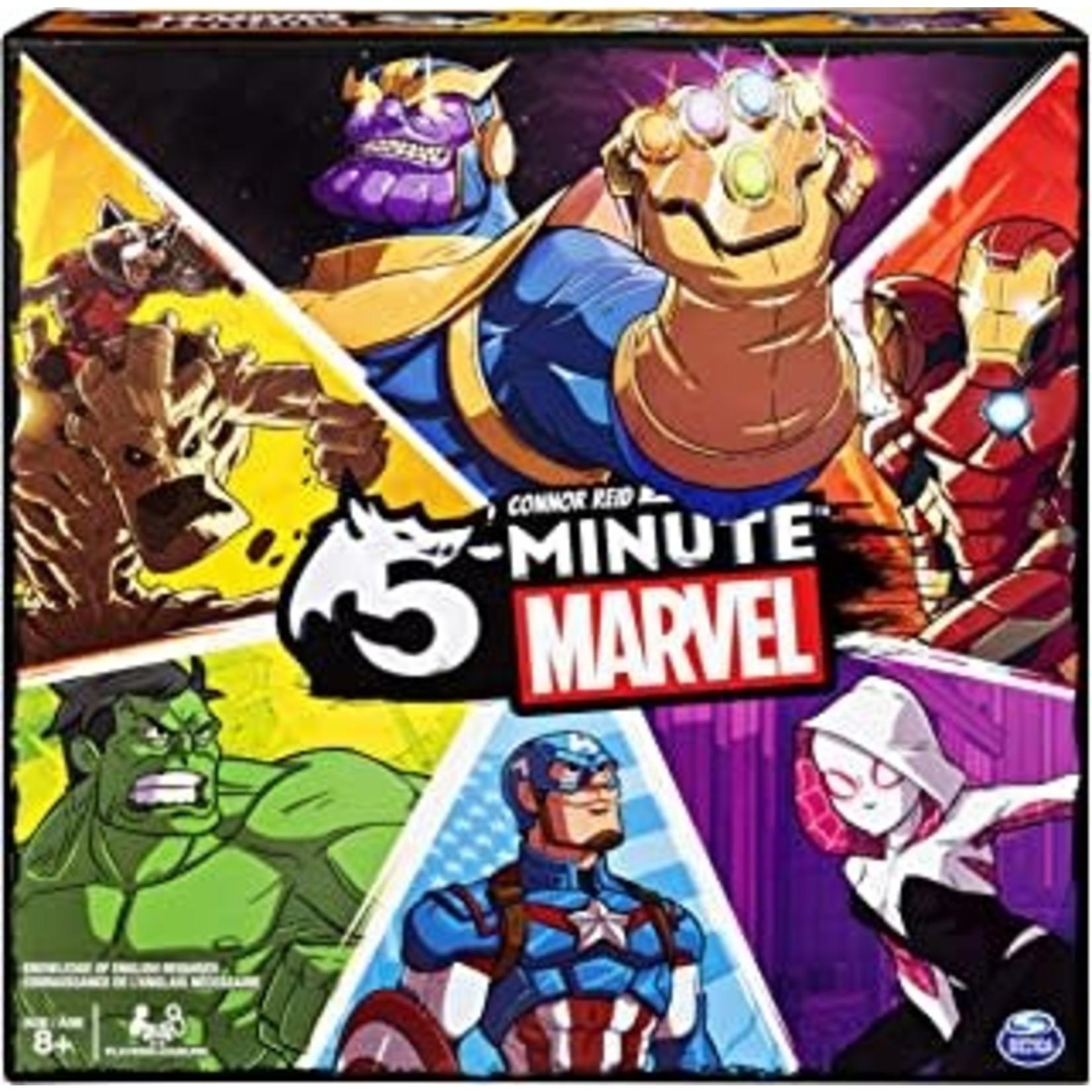 Spin Master Games 5 Minute Marvel