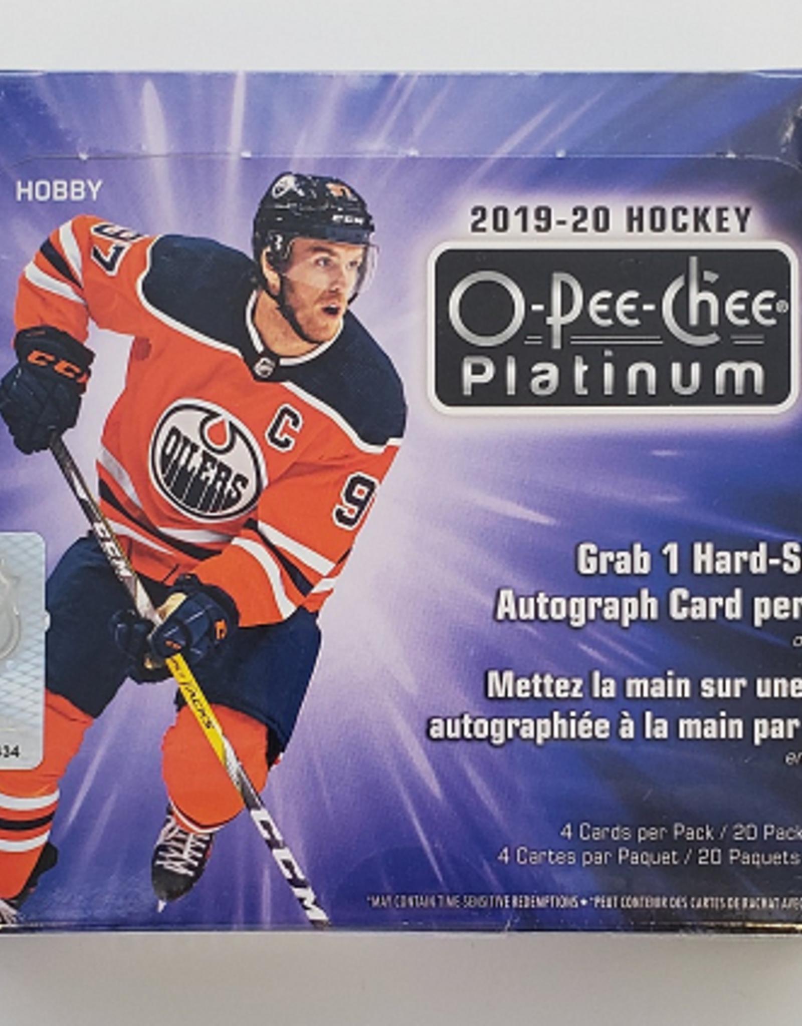 Upper Deck 2019-20 Upper Deck O-Pee-Chee Platinum Hockey