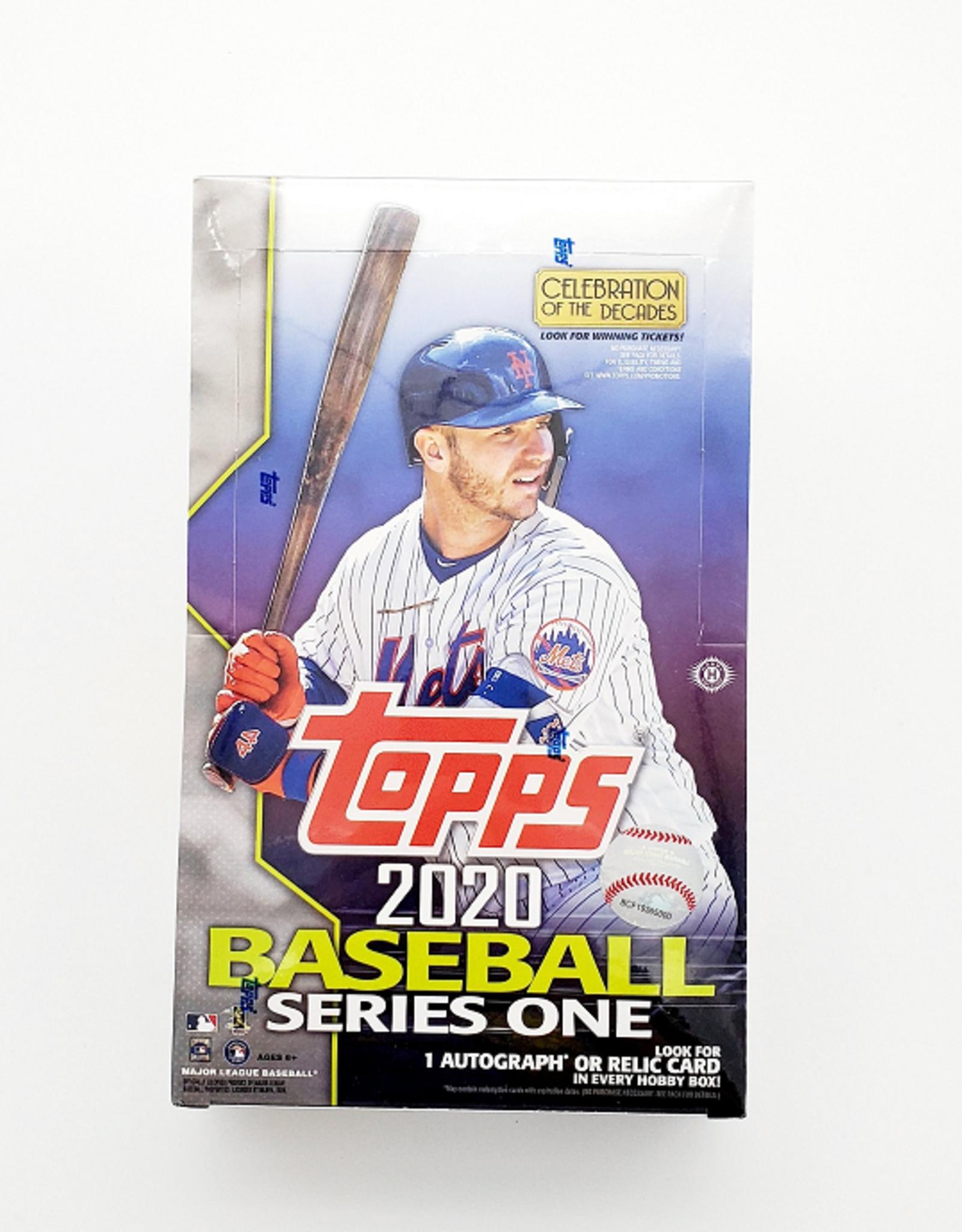 Topps 2020 Topps Series 1 Baseball Hobby Box