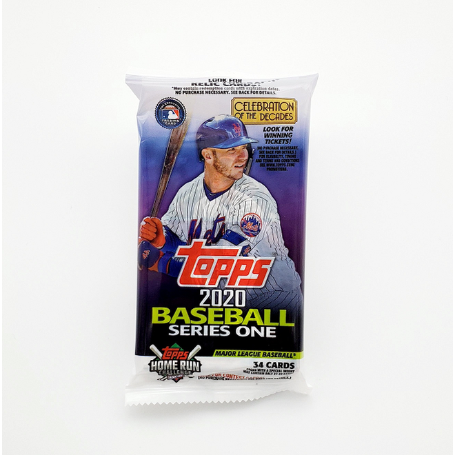 2020 Topps Series 1 Baseball Fat Pack
