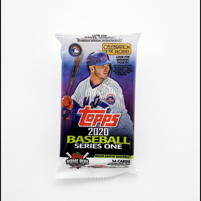2020 Topps Series 1 Baseball Fat Pack