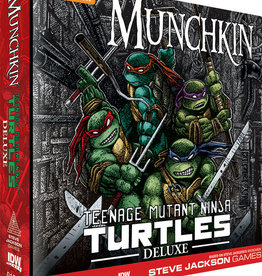 IDW PUBLISHING Munchkin Teenage Mutant Ninja Turtles Deluxe Edition