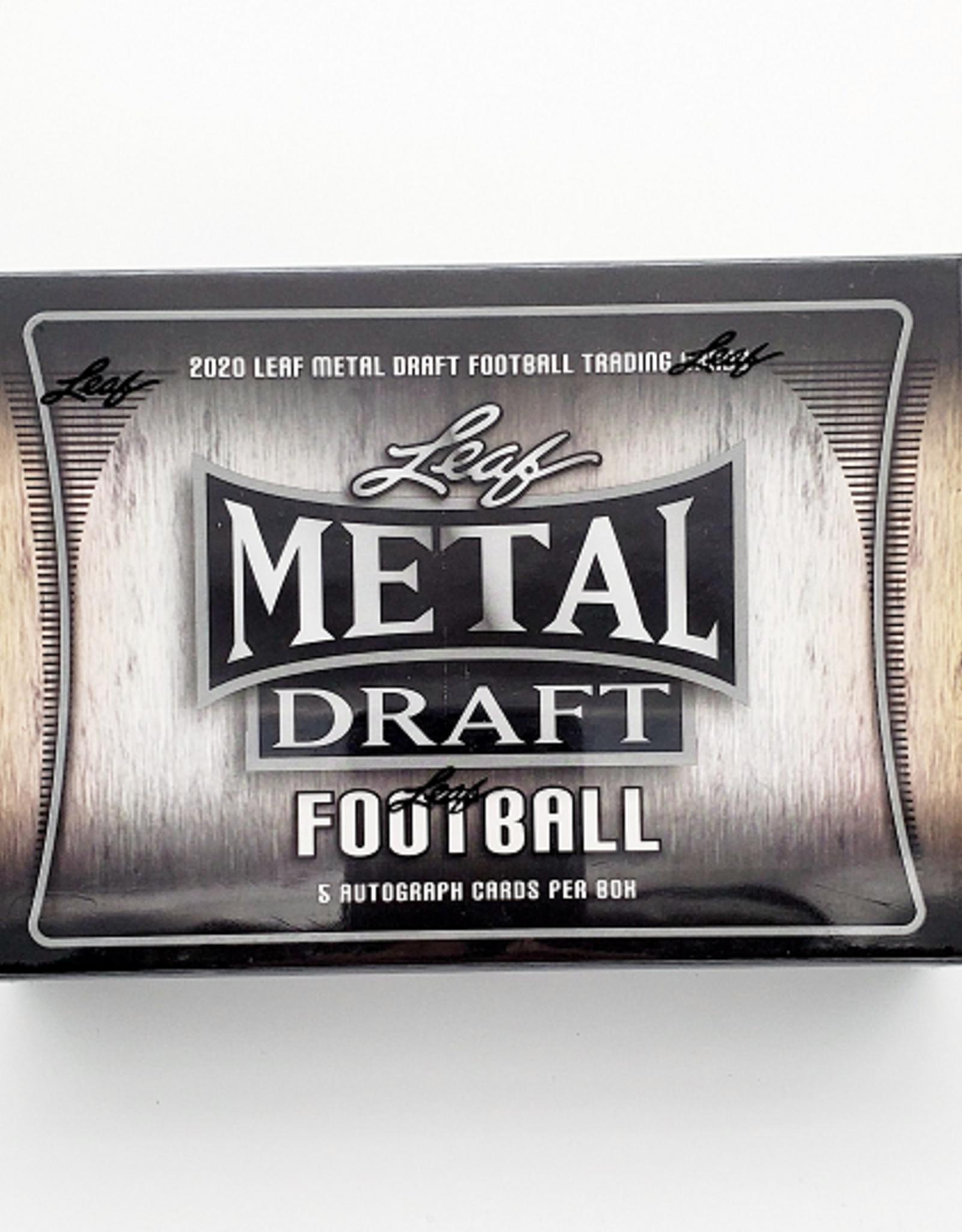 Leaf Trading Cards 2020 Leaf Metal Draft Football