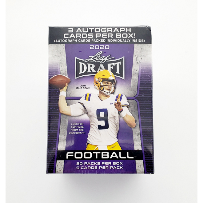 2020 Leaf Draft Football - Hobby - Blaster
