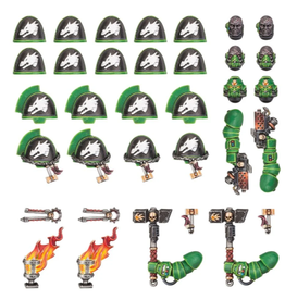 Games Workshop Salamanders: Primaris Upgrades