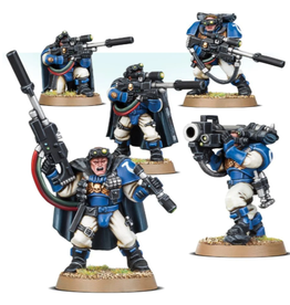Games Workshop Space Marines: Scouts With Sniper Rifle
