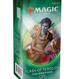 Wizards of the Coast MTG   Challenger Deck 2020 - Flash of Ferocity