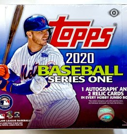 Topps 2020 Topps Series 1 Baseball Jumbo Box