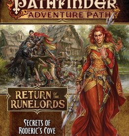 Paizo Publishing Pathfinder RPG: Adventure Path - Return of the Runelords Part 1 - Secrets of Roderic`s Cave
