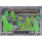 Gale Force Nine Warped Stone - Green
