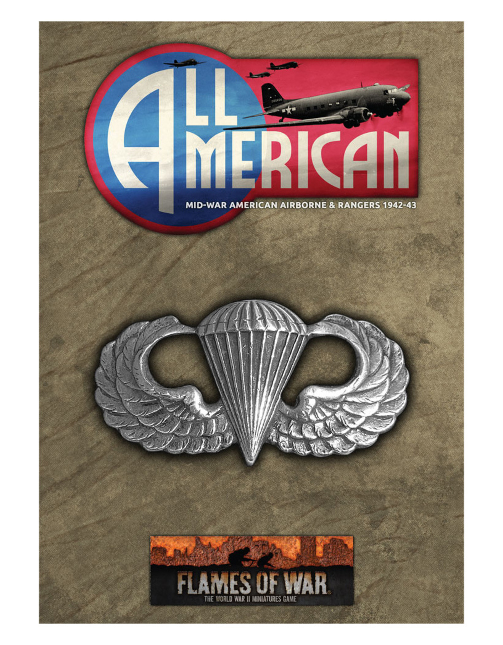 Battlefront Miniatures Ltd Flames of War | All American Booklet & Cards