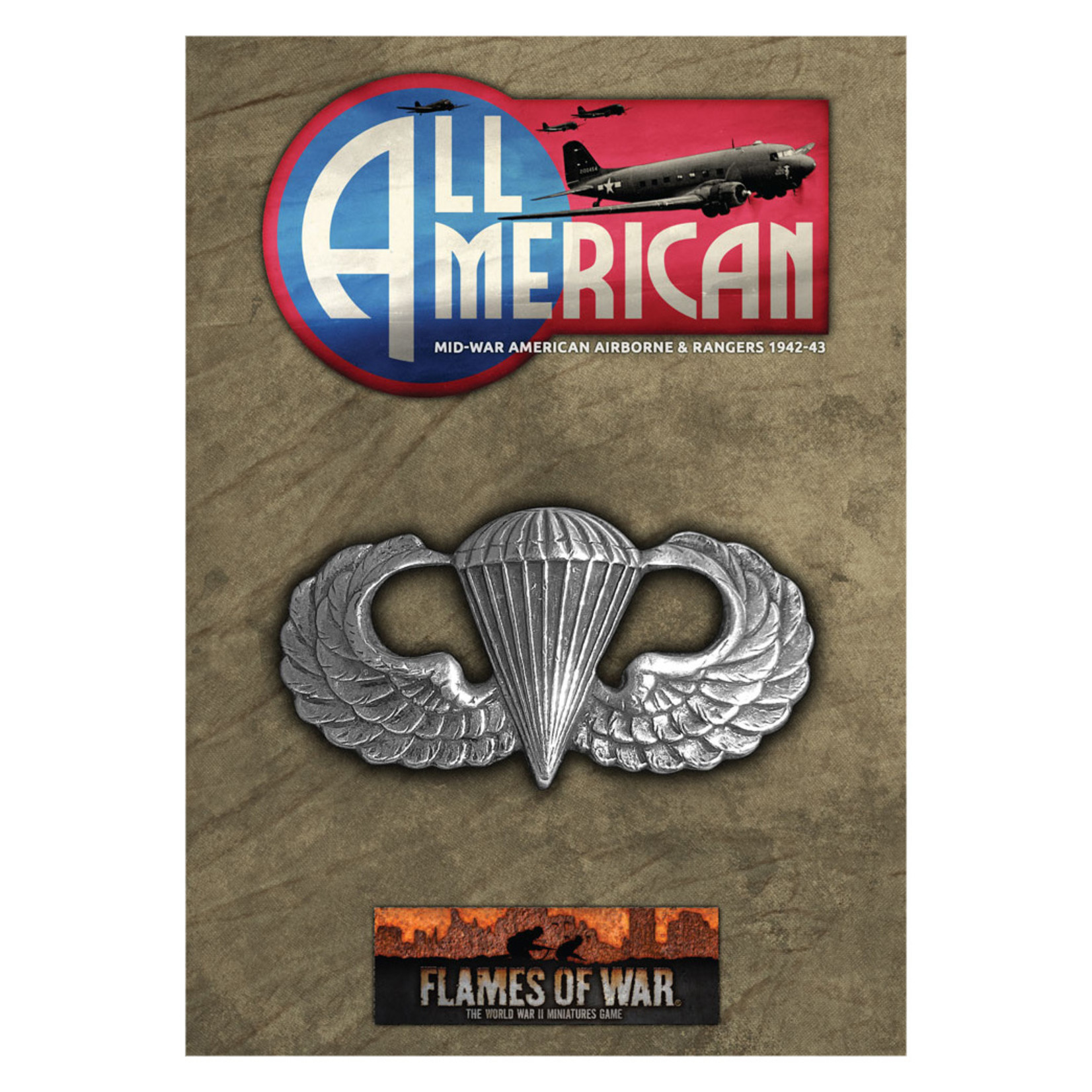 Battlefront Miniatures Ltd Flames of War | All American Booklet & Cards