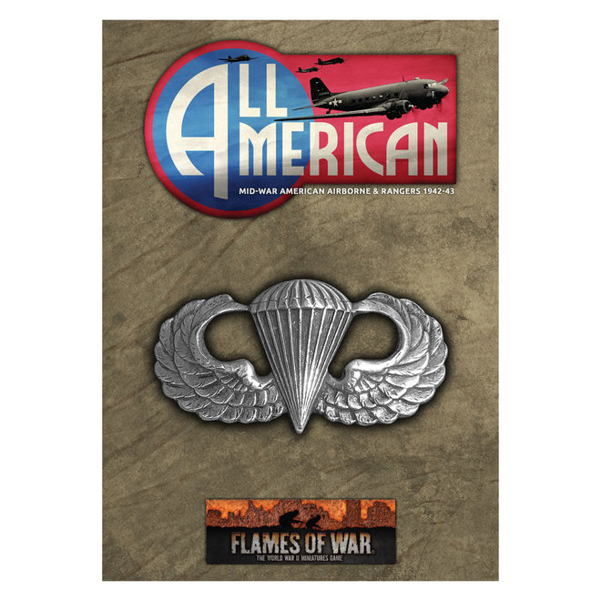 Flames of War   All American Booklet & Cards