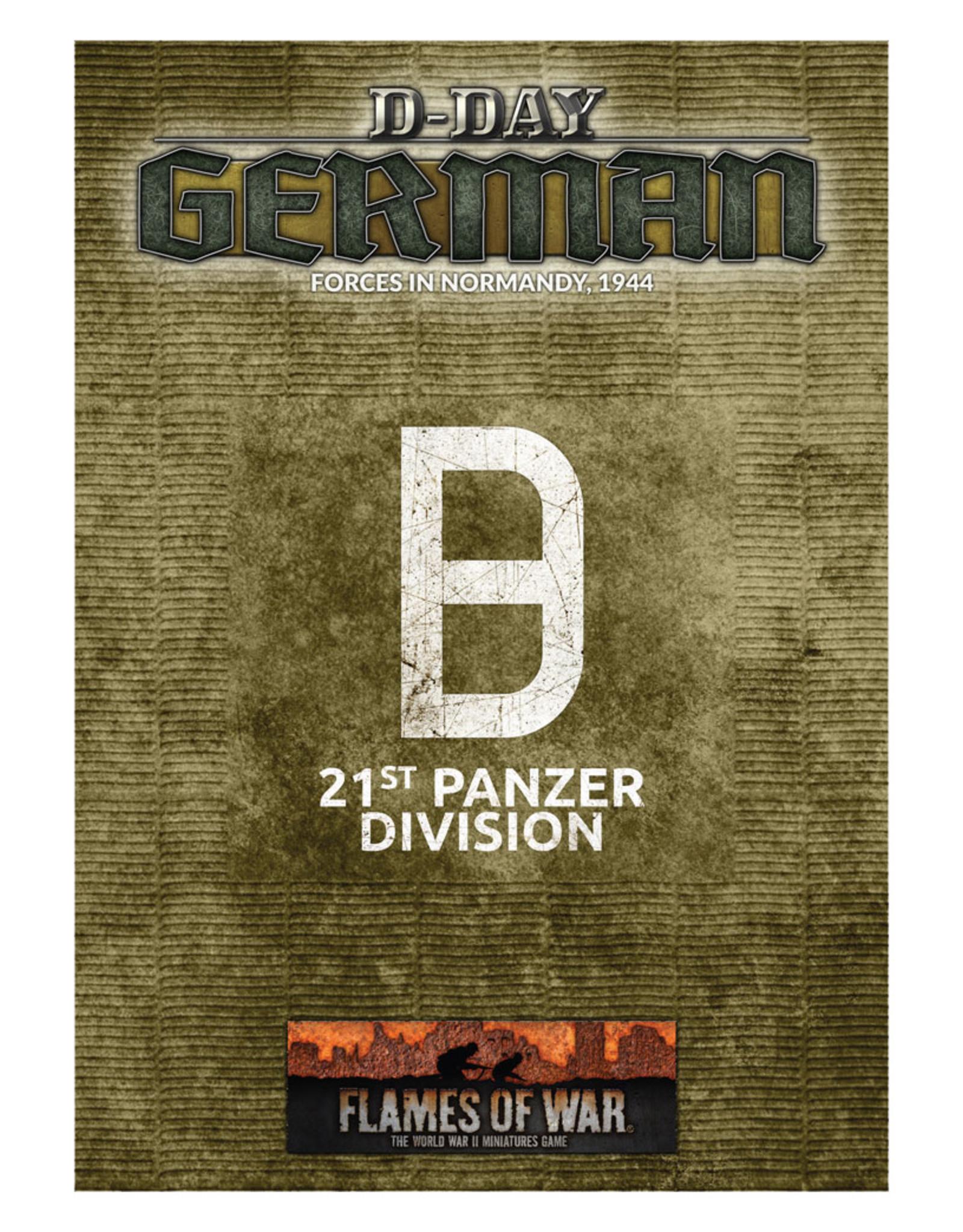 Battlefront Miniatures Ltd Flame of War | D-Day: 21st Panzer