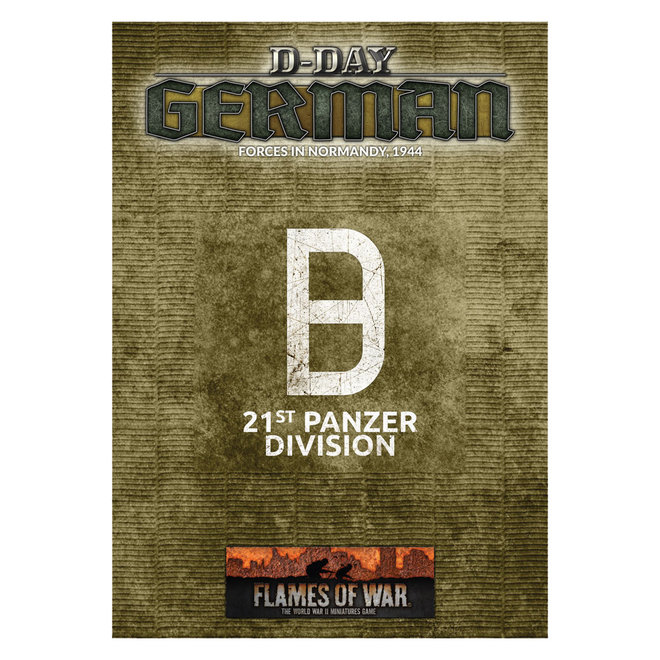 Flame of War | D-Day: 21st Panzer