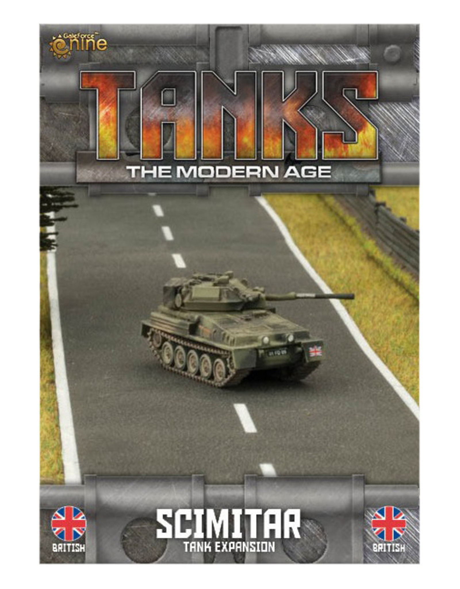 Battlefront Miniatures Ltd TANKS | Birtish Scimitar/Scorpion Tank Expansion