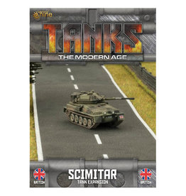 Battlefront Miniatures Ltd TANKS | British Scimitar/Scorpion Tank Expansion