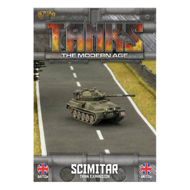 TANKS   British Scimitar/Scorpion Tank Expansion