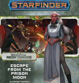 Paizo Publishing Starfinder RPG: Adventure Path - Against the Aeon Throne 2 - Escape from the Prison Moon