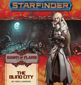 Paizo Publishing Starfinder RPG: Adventure Path - Dawn of Flame 4 - The Blind City