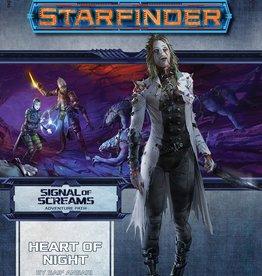 Paizo Publishing Starfinder RPG: Adventure Path - Signal of Screams Part 3 - Heart of Night