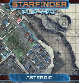Paizo Publishing Starfinder RPG: Flip-Mat - Asteroid